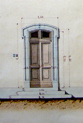 Porte-plan-phare-ancien-Detail
